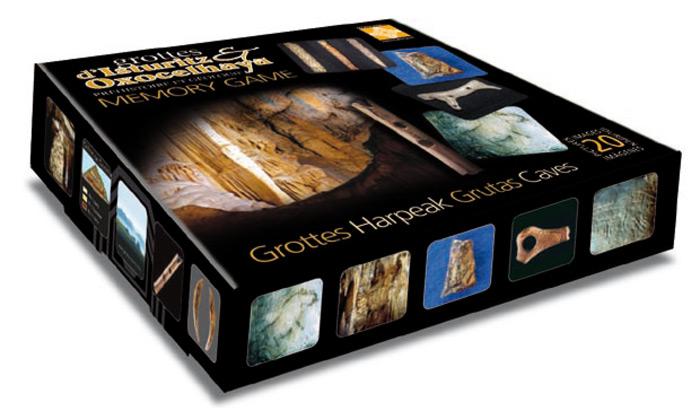 Jeux de carte mémoire des grottes d'Isturitz