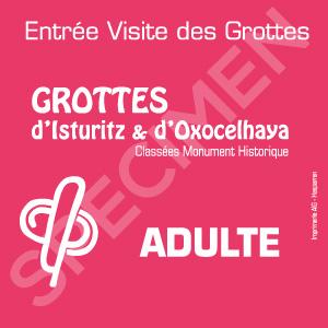 Billet Adulte Grottes Isturitz Isturitz