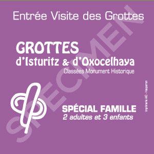 Billet Famille Grottes Isturitz